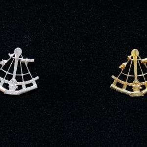 Sekstanttirintamerkki/ sextant bröstmärket